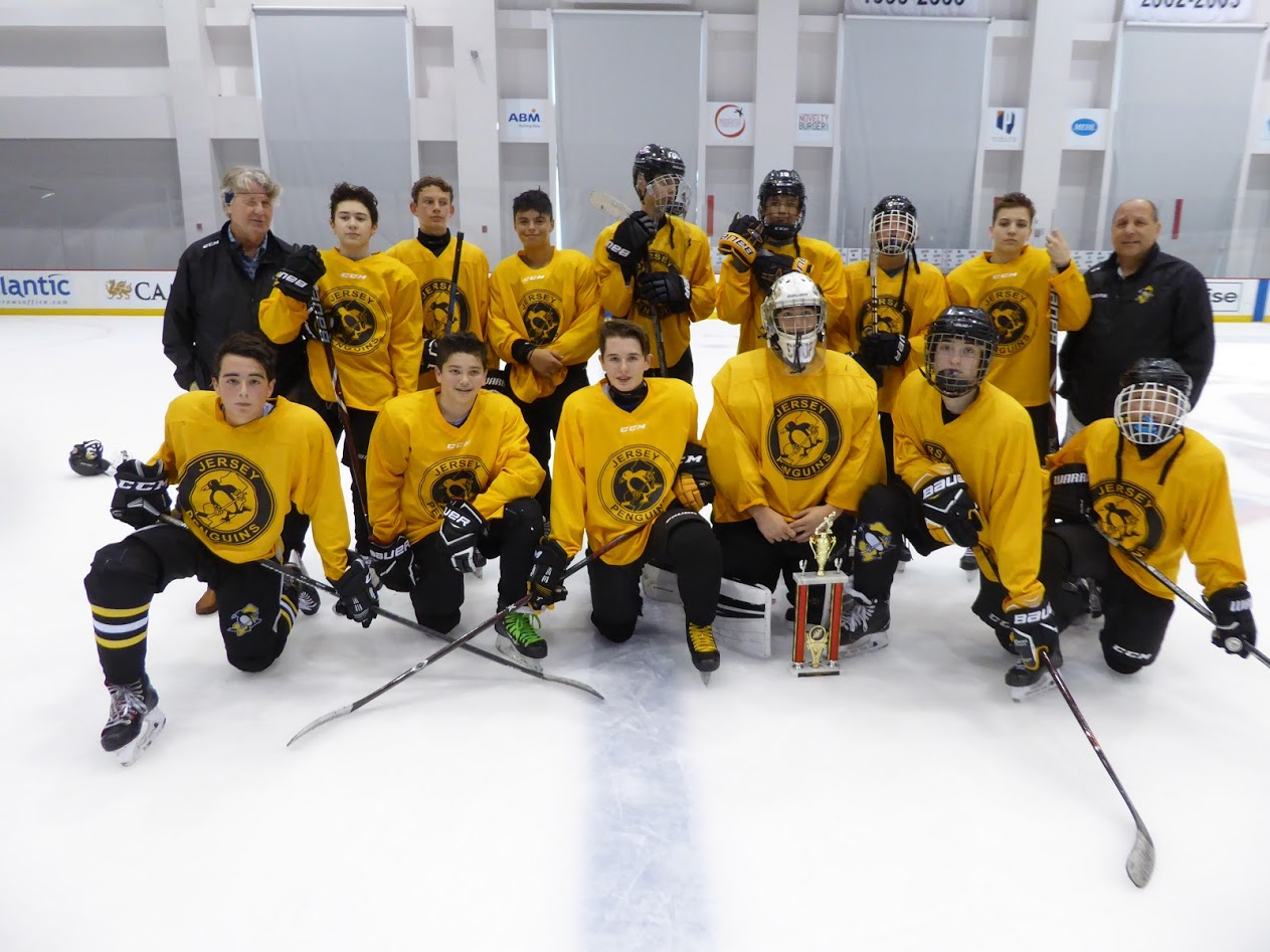 Midget u16 A Division Runner-Up - Jersey Penguins