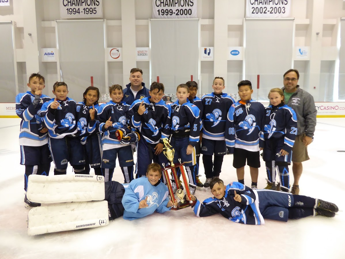 Squirt AAA Division Champions - Paramus Spartans