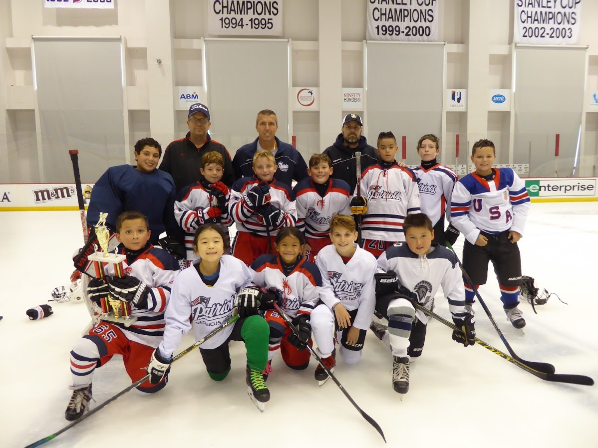 Squirt B Division Runner-Up - Secaucus Patriots