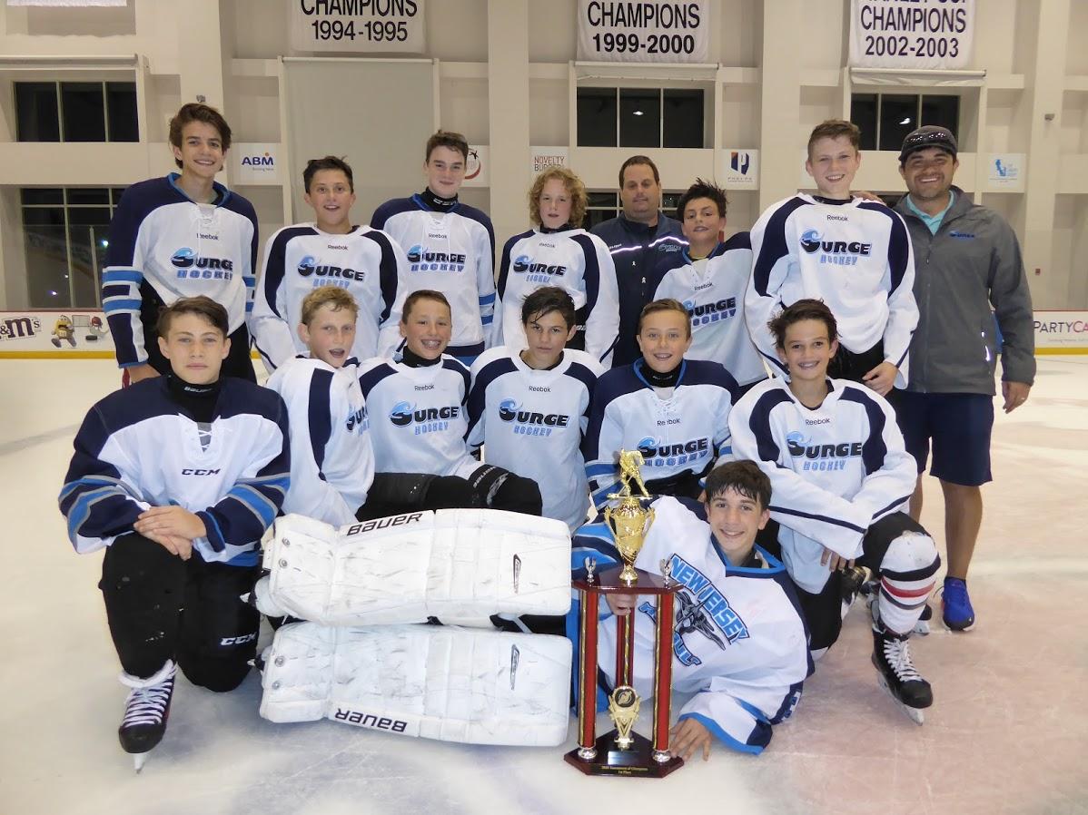 Bantam A Division Champions - Surge Hockey