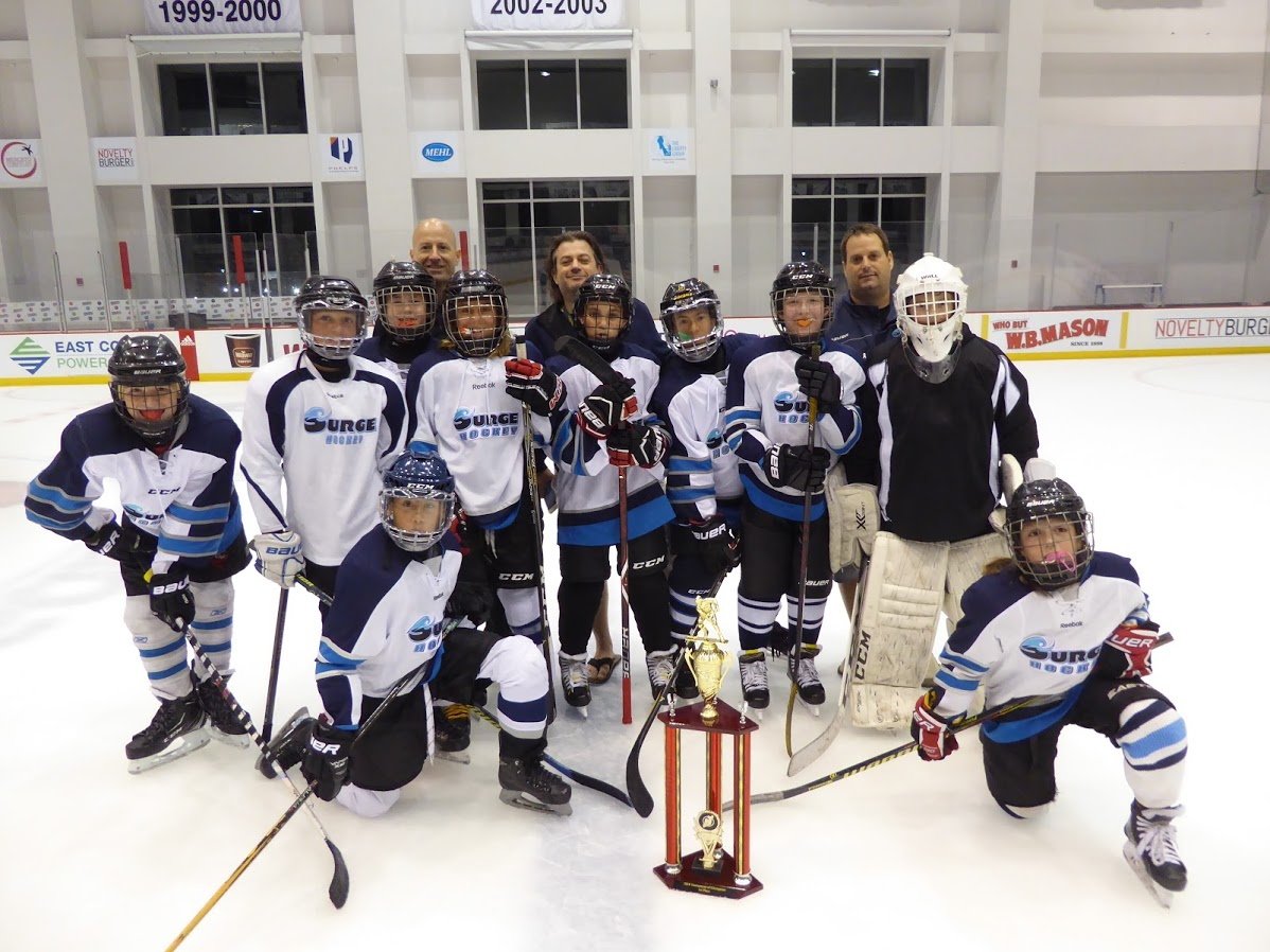 PeeWee AAA Division Champions - Surge Hockey