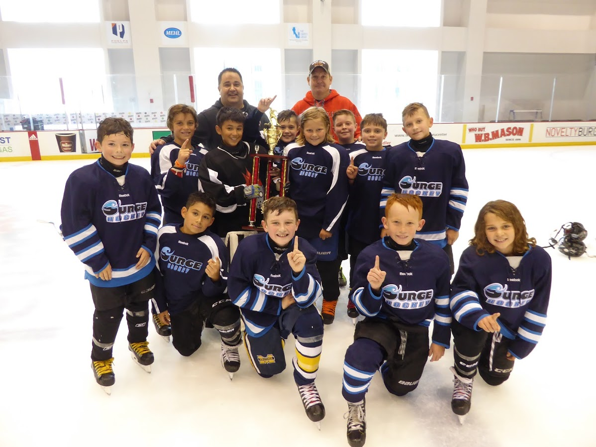 Squirt AAA Division Champions - Surge Hockey